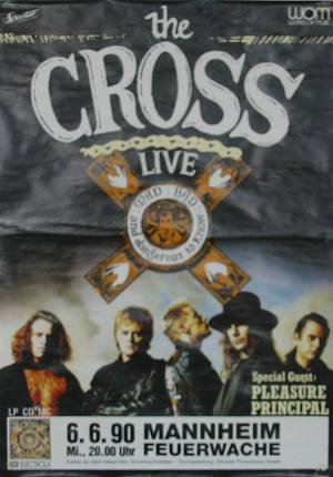 Poster - The Cross in Mannheim on 06.06.1990