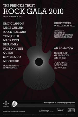 Poster - Brian May and Roger Taylor in London on 17.11.2010
