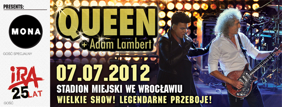 Queen + Adam Lambert in Wroclaw on 07.07.2012