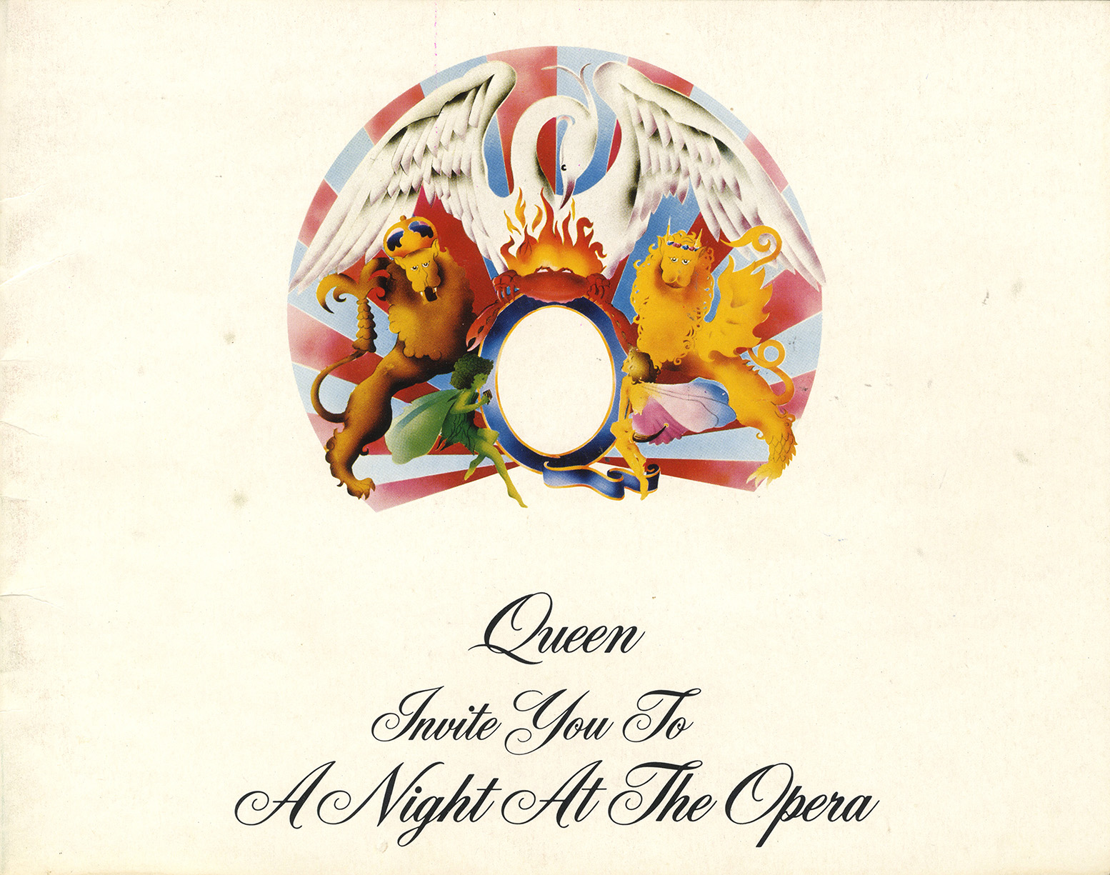 A Night At The Opera tour program (UK)
