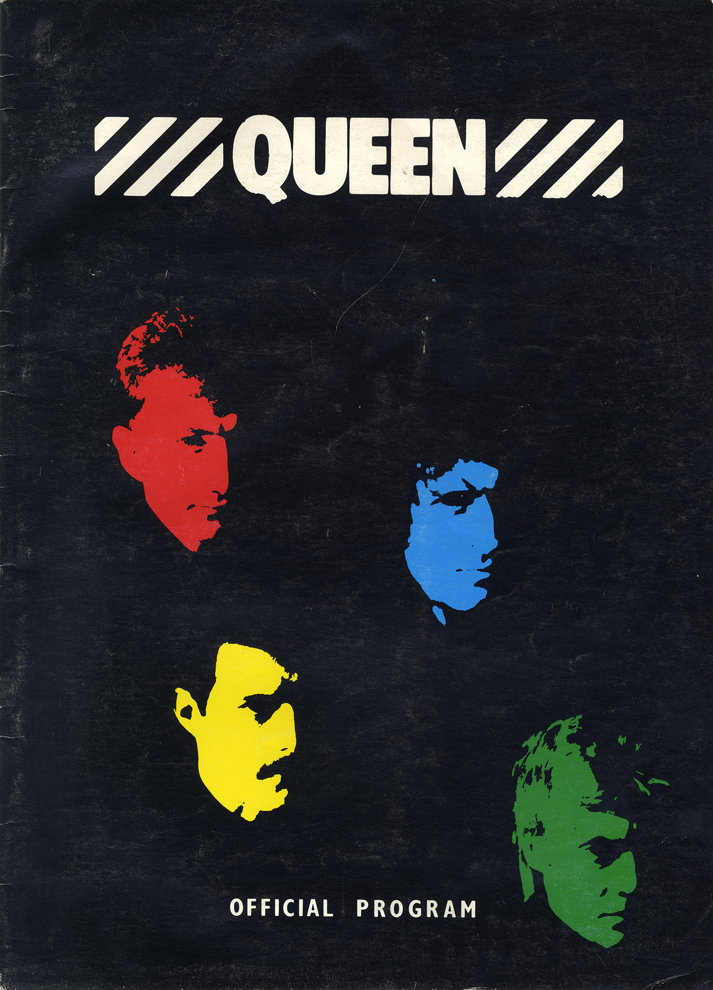 Hot Space tour program (USA)
