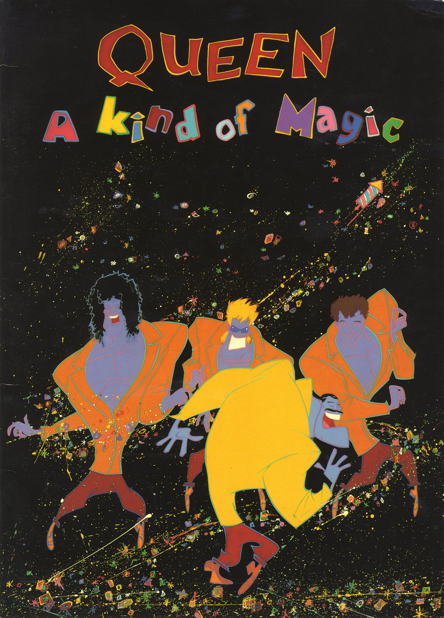 A Kind Of Magic tour program (UK)