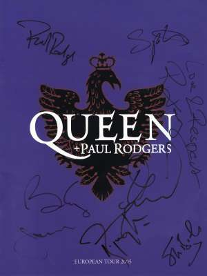 Queen + Paul Rodgers spring 2005 (EU)