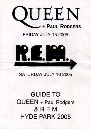 Queen + Paul Rodgers - Hyde Park 2005