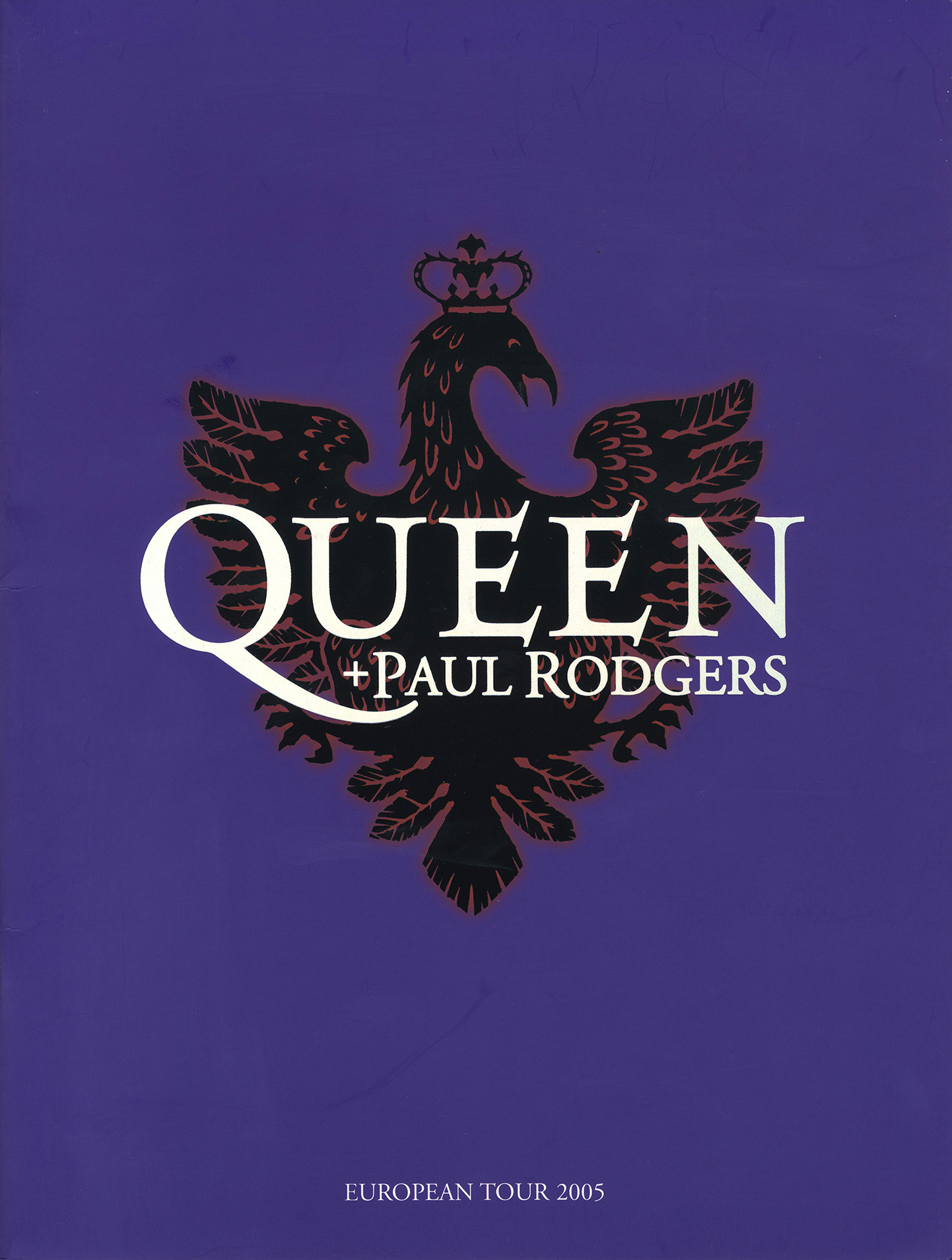 Queen + Paul Rodgers spring 2005 (UK)