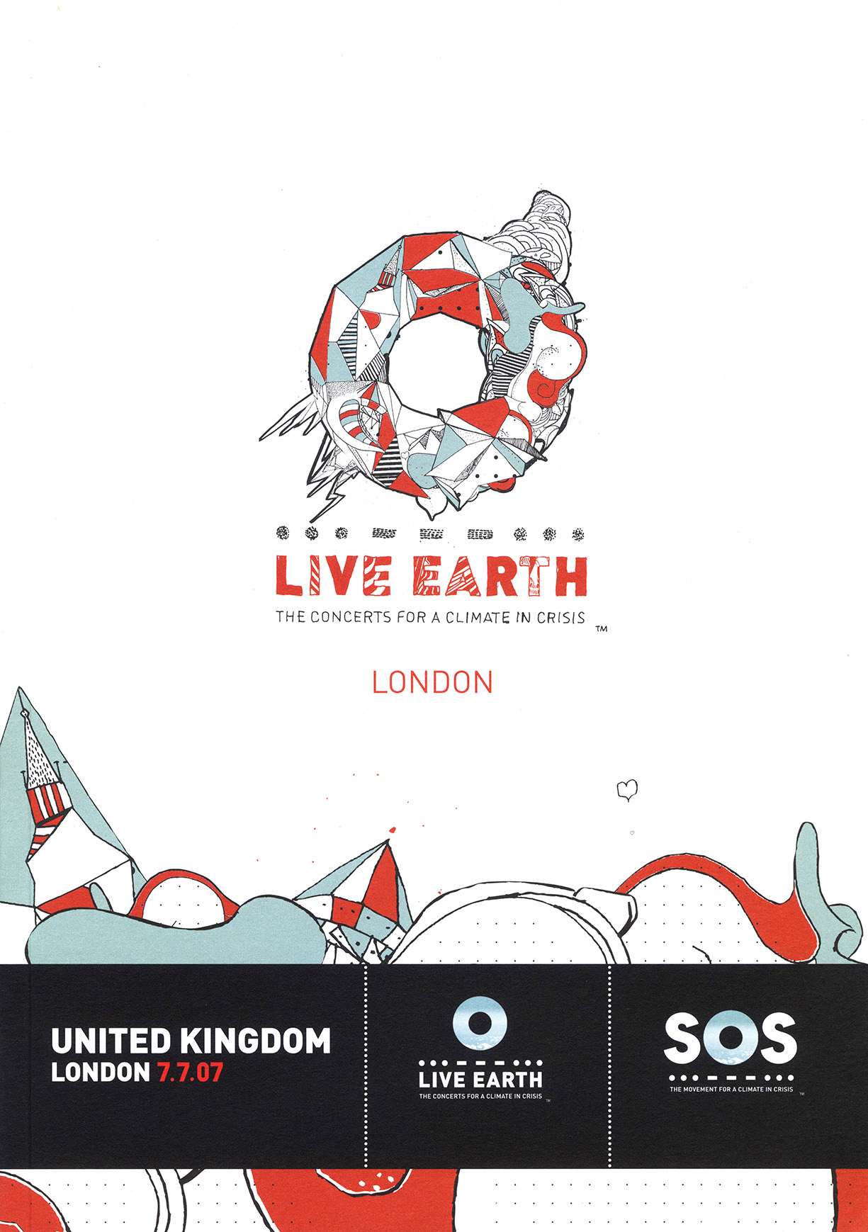 Live Earth 2007 programme