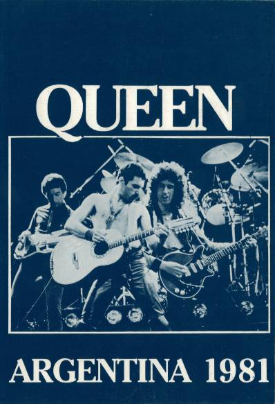 Ticket stub - Queen live at the El Gigante de Arroyito (Estadio Rosario Central), Rosario, Argentina [06.03.1981]