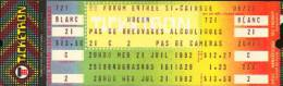 Ticket stub - Queen live at the Forum, Montreal, Canada [21.07.1982]
